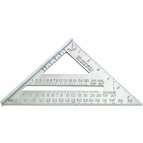 Johnson Level Johnny Square Professional Aluminum Rafter Angle Square