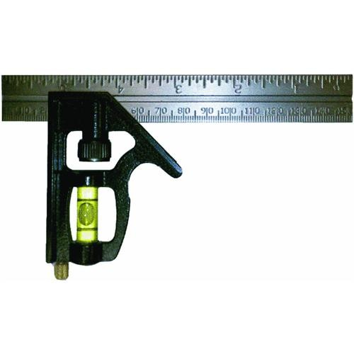 Johnson Level Heavy-Duty English And Metric Combination Square