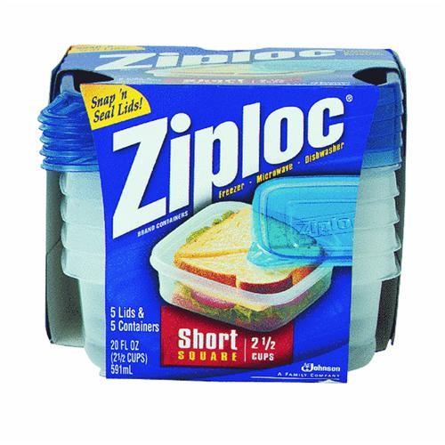 Johnson S C Inc Ziploc Square Food Storage Container