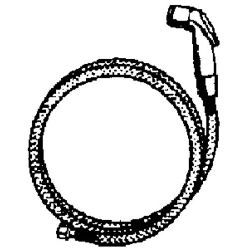 Jones Stephens Corp. Replacement Hose And Spray Assembly For Delta