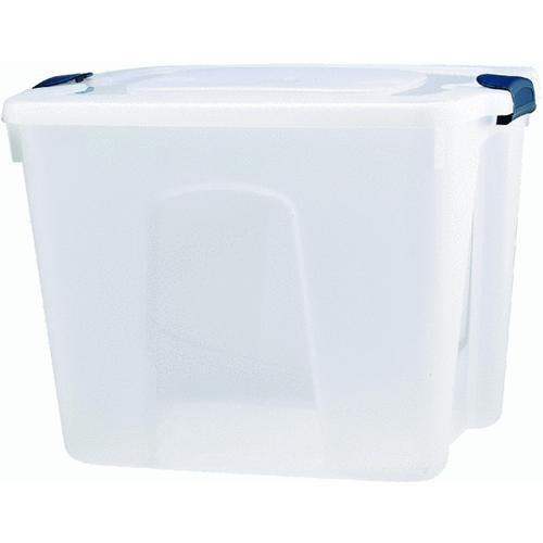 Homz Products/Storage HOMZ 20 Gallon Clear Advantage Storage Tote