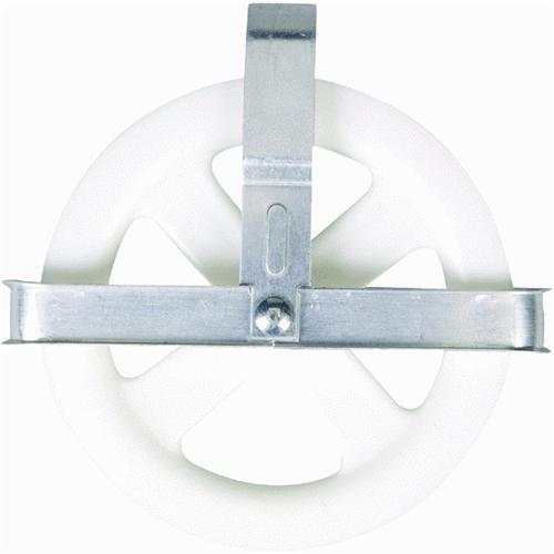 Household Essentials Aluminum Heavy-Duty Clothesline Pulley