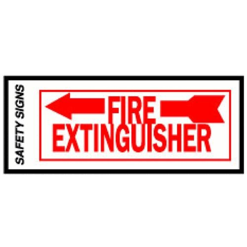 Hyko Prod. Glow In The Dark Fire Extinguisher Sign