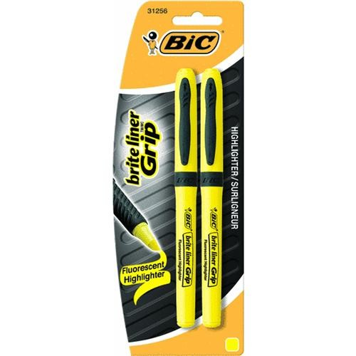 Bic Corporation 2-Pack Brite Highlighter