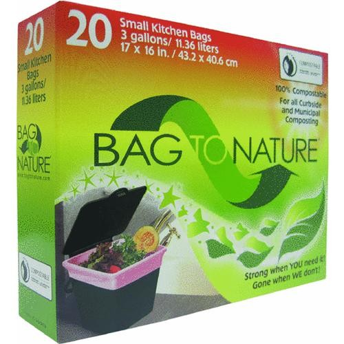 Indaco Manufacturing Bag-To-Nature Compostable Trash Bag