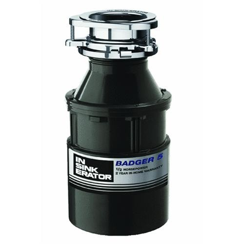 Insinkerator Evergrind 1/2 HP Badger 5 Garbage Disposer