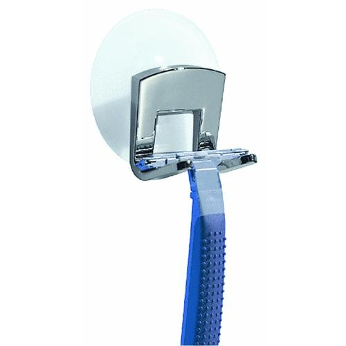 Interdesign Plastic Suction Razor Holder
