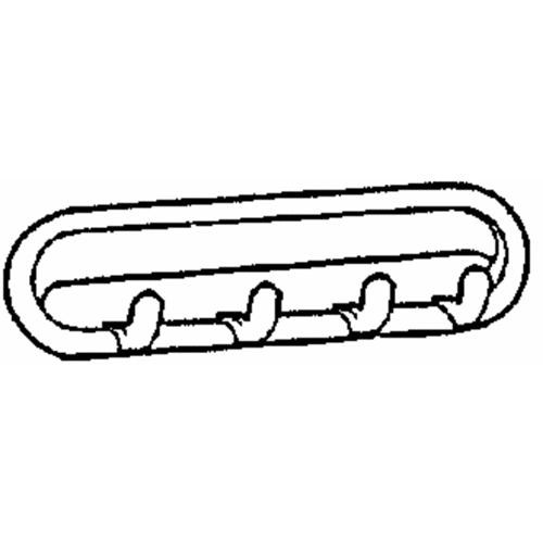 Interdesign Multipurpose Hook Rail Rack
