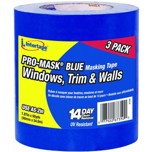 Intertape Polymer Group IPG ProMask Blue Masking Tape With Bloc-It