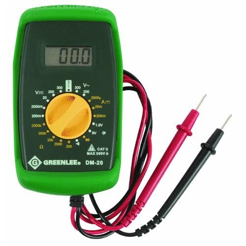 Greenlee Textron Digital Volt Multimeter