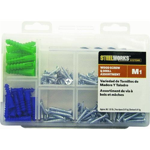 Hillman Fastener Corp Wood Screw and Drill Assortment Kit