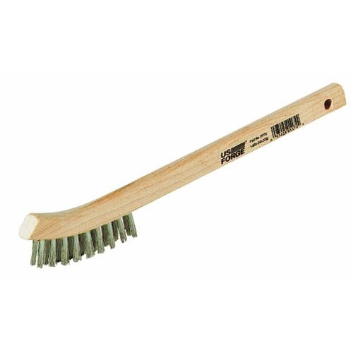 Forney Industries Curved Handle Wire Brush