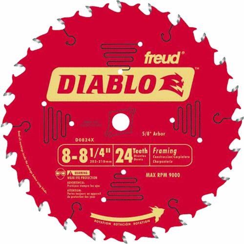 Freud Inc Diablo Carbide Tipped Table, Miter, And Radial Arm Saw Blade