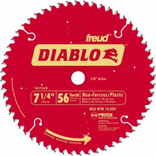 Freud Inc Diablo Metal and Plastic Circular Saw Blade