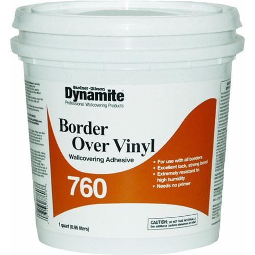 Gardner Gibson Dynamite 760 Vinyl Over Vinyl Wallcovering Adhesive