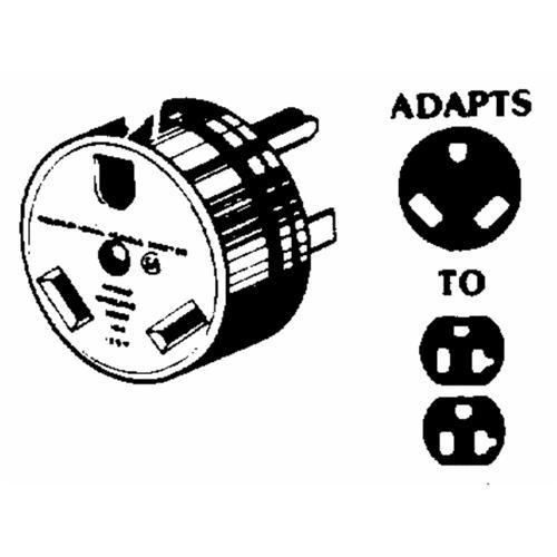GE Industrial Dept. Travel Trailer Adapter