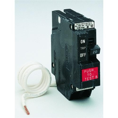 GE Industrial Dept. GE GFCI Circuit Breaker