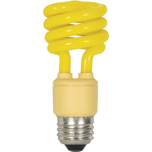 SATCO PRODUCTS, INC. Satco T2 Spiral Medium CFL Bug Light Bulb