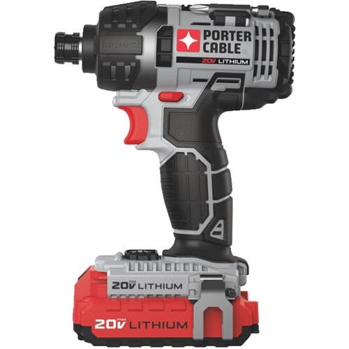 Black & Decker Porter Cable 20V Max Lithium-Ion Cordless Impact Driver Kit