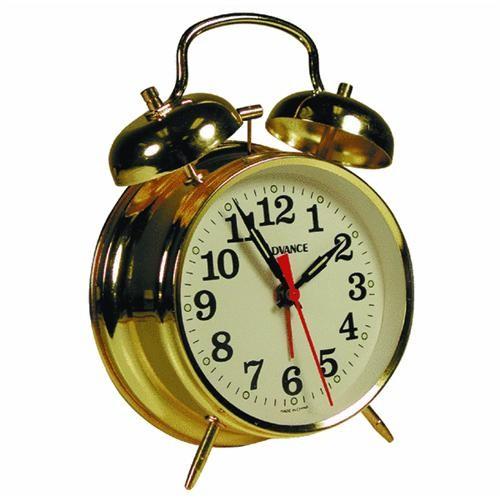Geneva Clock Company Advance Keywound Alarm Clock
