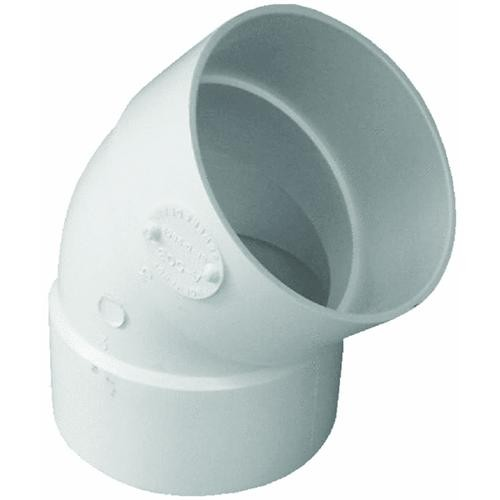 Genova 45 degrees PVC Elbow (1/8 Bend)