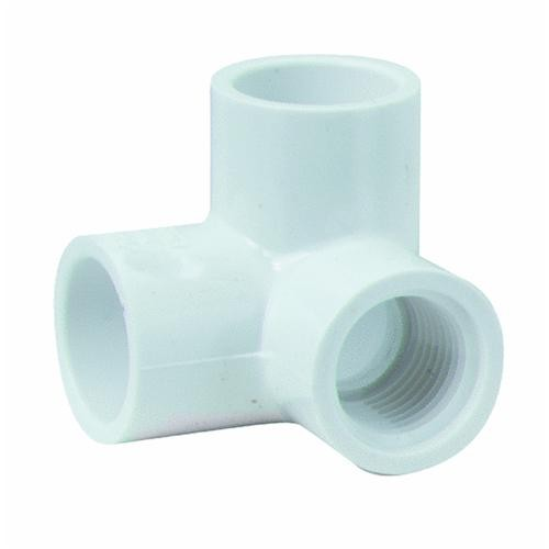 Genova PVC 90 degrees Elbow With Side Inlet