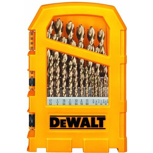 Black & Decker/DWLT DeWalt 29-Piece Pilot Point Heavy-Duty Drill Bit Set
