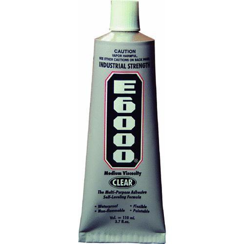 Eclectic Prod. E6000 Industrial Multi-Purpose Adhesive