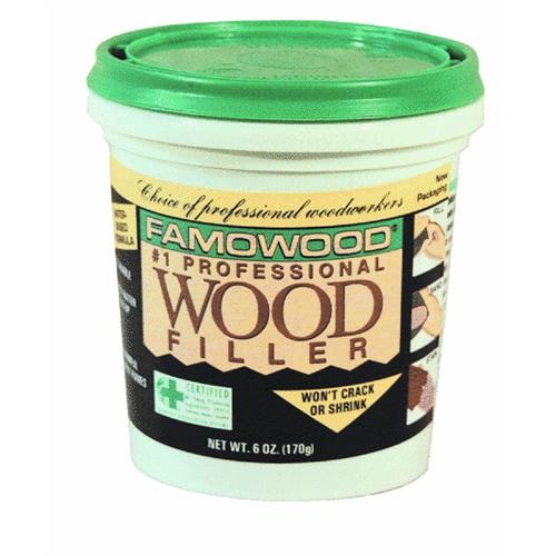 Eclectic Prod. Famowood Water-Based Wood Filler