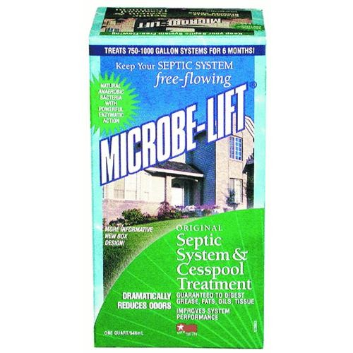 Ecological Laboratories Microbe-Lift Septic Tank Treatment And Cesspool Treatment