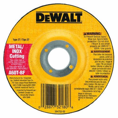 Black & Decker/DWLT Thin Cutting Cut-Off Wheel