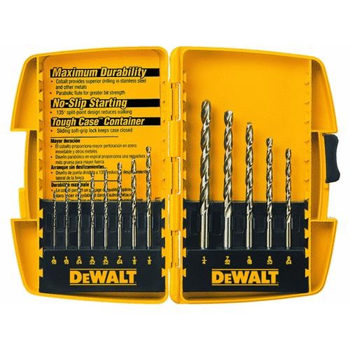 Black & Decker/DWLT DeWalt 13-Piece Cobalt Drill Bit Set