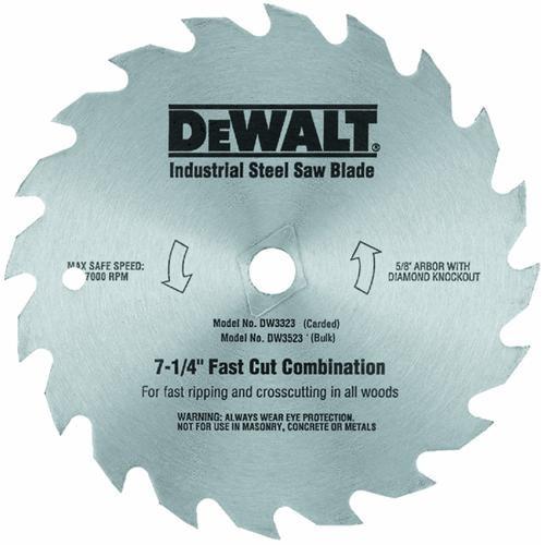 Black & Decker/DWLT Fast Cut Steel Saw Blade