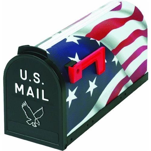 Flambeau Prod. U.S. Flag Mailbox