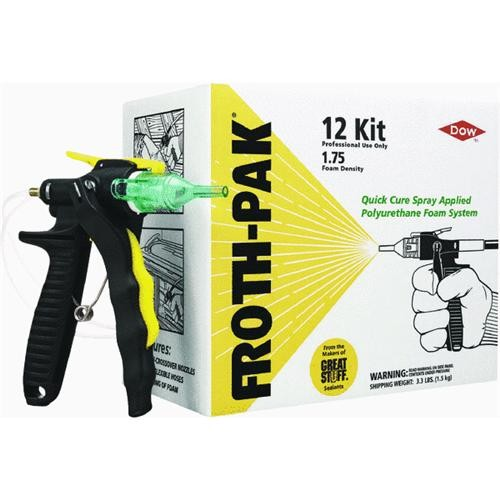Dow Chemical Co. Froth-Pak 12 Spray Foam Sealant System