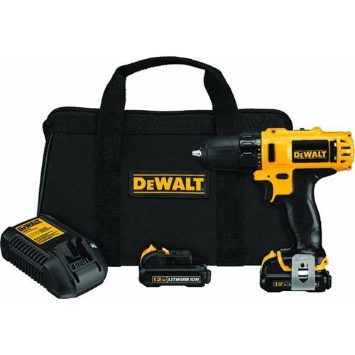 Dewalt DeWalt 12V MAX Lithium-Ion Cordless Drill Kit
