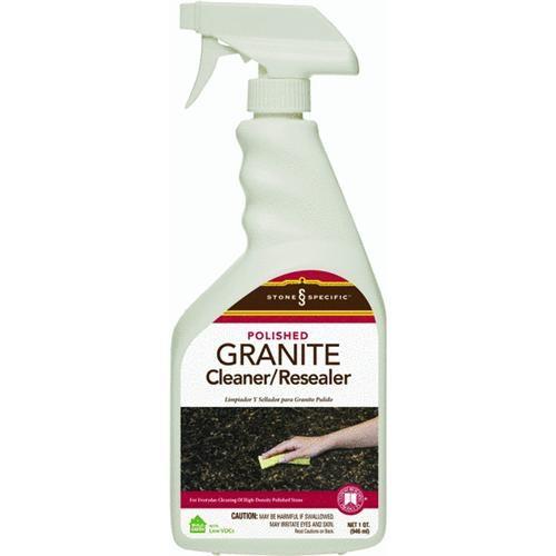 Custom Building Prod. Aqua Mix Polished Granite Cleaner And Resealer