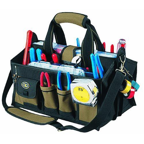 Custom Leathercraft 15-Pocket Traytote Bag