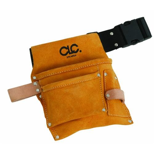 Custom Leathercraft Nail And Tool Bag With Belt