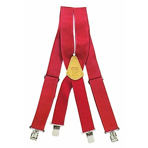 Custom Leathercraft Work Suspenders