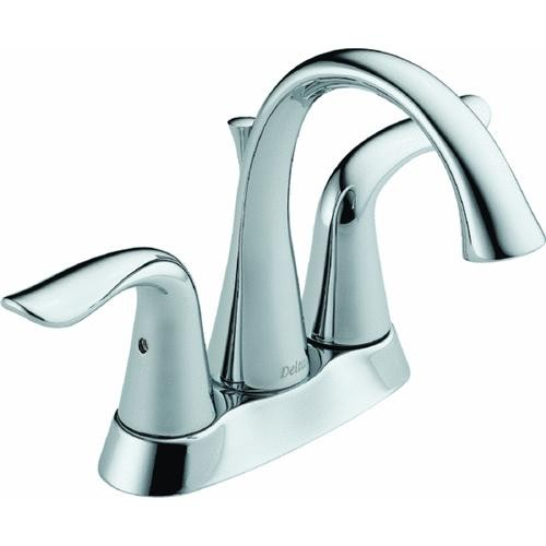 Delta Faucet Lahara Series Delta 2-Handle Lavatory Faucet With Pop-Up
