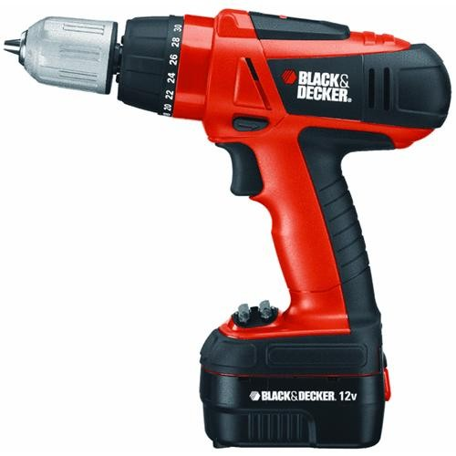 Black & Decker Black & Decker 12V MAX Lithium-Ion Cordless Drill Kit