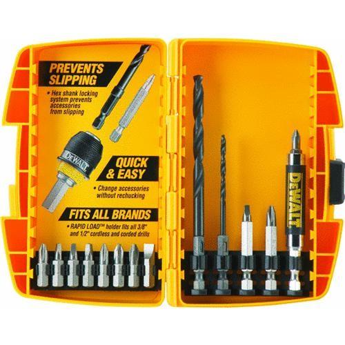 Black & Decker/DWLT DeWalt 15-Piece Rapid Load Drill and Drive Set