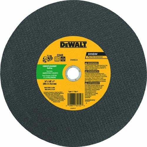 Black & Decker/DWLT DeWalt High Speed Masonry Cut-Off Wheel