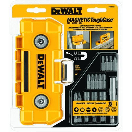 Black & Decker/DWLT ToughCase With Screwdriver Bit Set