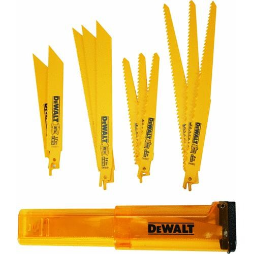 Black & Decker/DWLT DeWalt 12-Piece Reciprocating Saw Blade Set