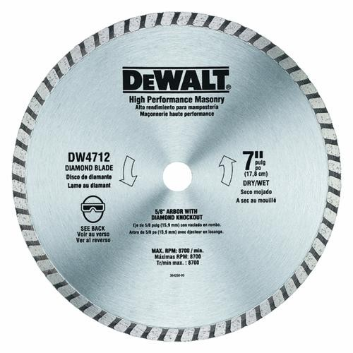 Black & Decker/DWLT High-Performance Masonry Blade