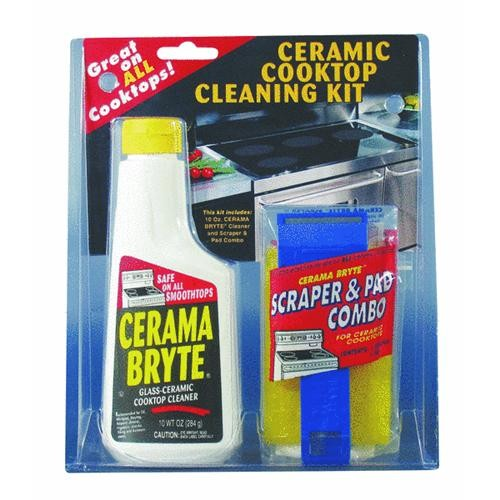 Blue Ribbon Prod. Cerama Bryte Ceramic Cooktop Cleaning Kit
