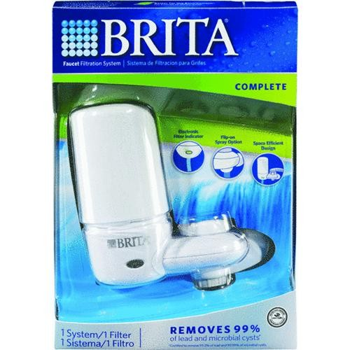 Brita Div of Clorox Brita On Tap System Faucet Mount Water Filter