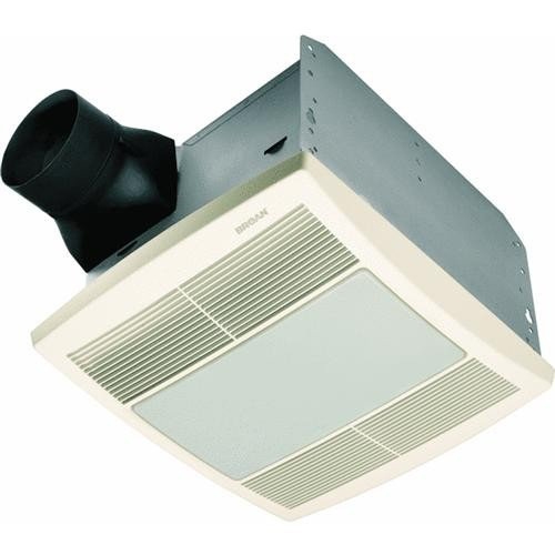 Broan-Nutone 80 CFM ENERGY STAR Fluorescent Light/Night Light Bath Exhaust Fan
